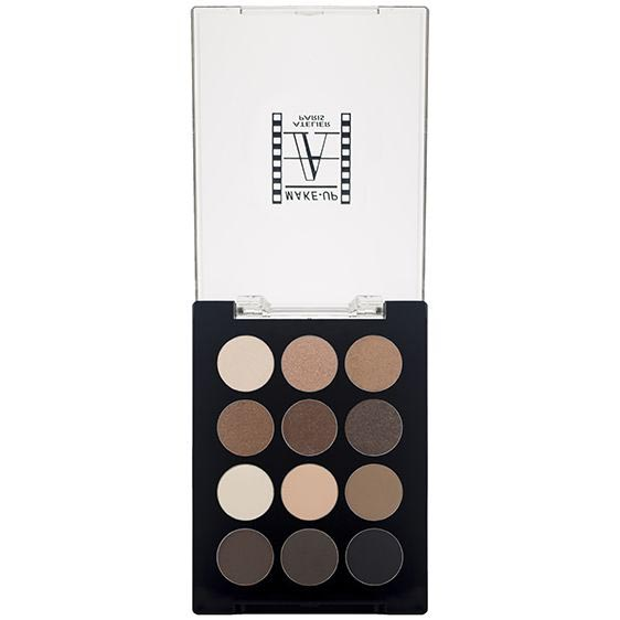 12 Pan Nude Eye Shadow Palette